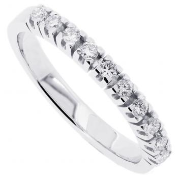 wedding ring brilliant diamond band blokchaton with u on the side