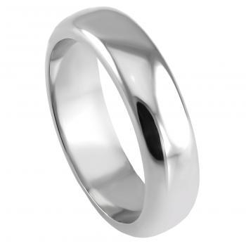 wedding ring outside chubby and inside flat or D-profile