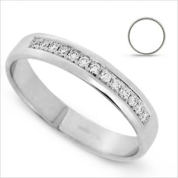 wedding ring 18kt diamond band brilliant