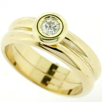 ring double band with rondel